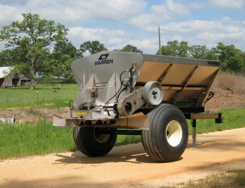 3 Ton Pull Type Lime & Fertilizer Spreader