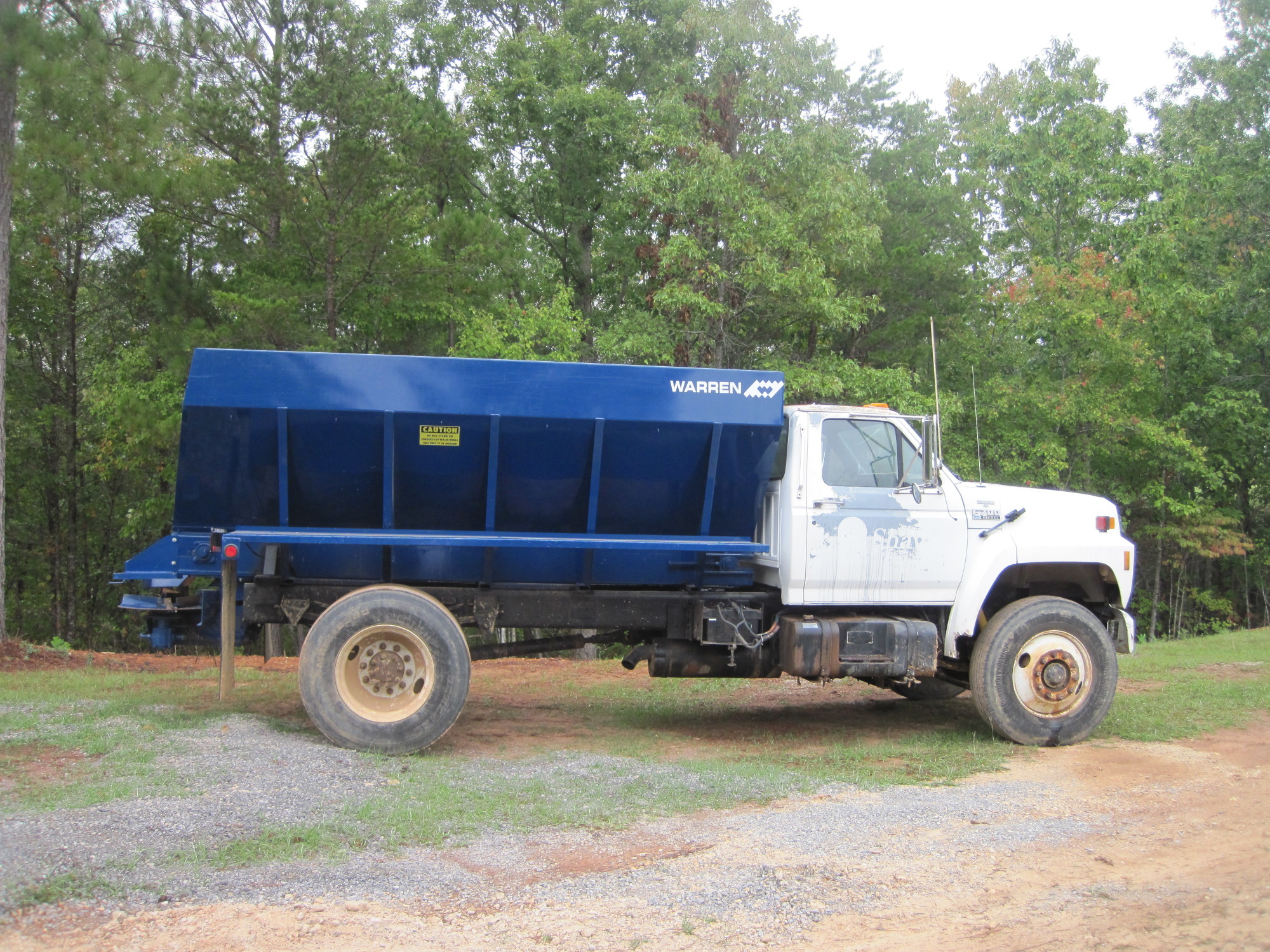 Truck Mount Lime And Fertilizer Lf 2420 Spreaders Ag