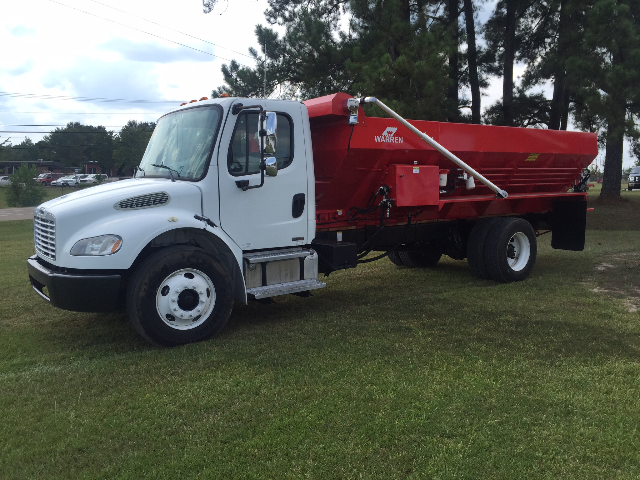 chicken litter spreader truck for sale