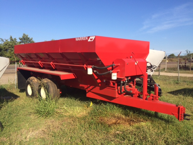 18 ft litter spreader
