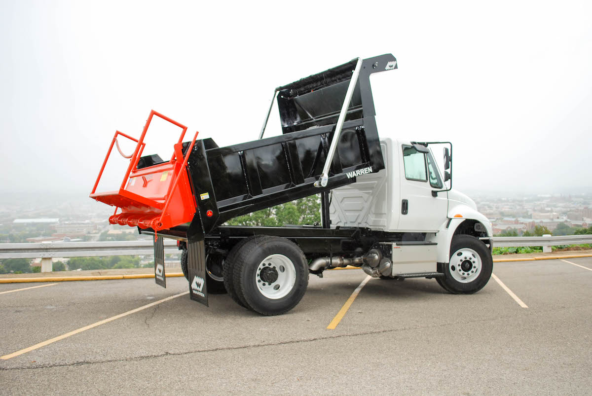 WXL-10 Dump Body with GS-87 Spreader